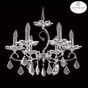 2039 Asfour Crystal Chandelier