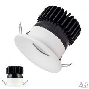 3w DL5702 White Mini Recessed LED Downlight (45 Beam - 270lm)