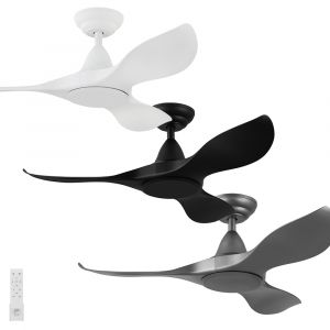 Noosa 1016mm DC ABS 3 Blade Ceiling Fan with Remote
