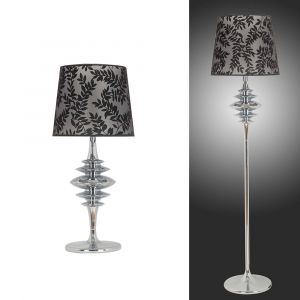 L2-5371 Chrome Table and Floor Lamp Range from