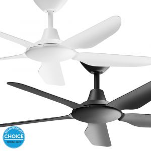 """Storm 1220mm (48"""") DC ABS 5 Blade Ceiling Fan With Remote"""
