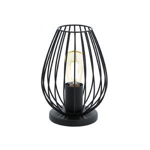 L2-5532 Black Frame Table Lamp