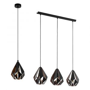 L2-11052	Black Metal Pendant Light Range from