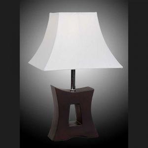 L2-5374 Timber Base Table Lamp