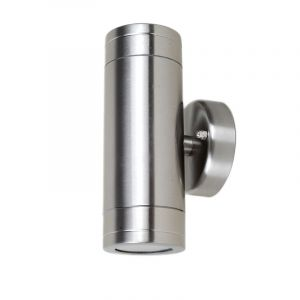 L2U-4100 Stainless Steel 240v Up/Down Wall Pillar Light