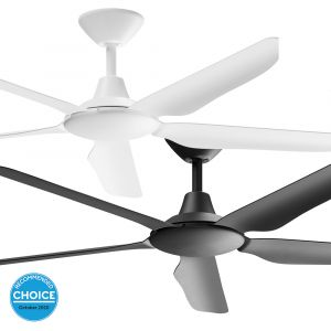 """Storm 1430mm (56"""") DC ABS 5 Blade Ceiling Fan With Remote"""