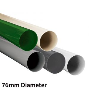 L2U-4575 76mm Aluminium Bollard Post Range