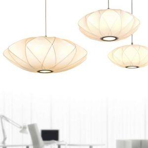 White Shade Pendant Light
