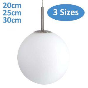L2-169 Sphere Glass Pendant - 3 Sizes