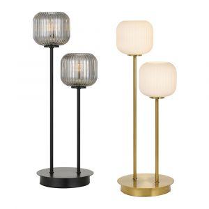L2-5756 2-Light LED Table Lamp Range
