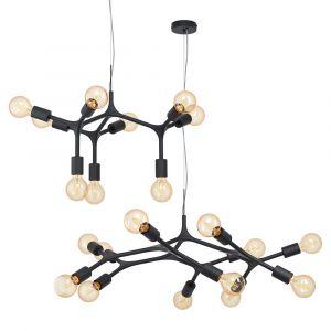 L2-11504 Black Pendant Light Range
