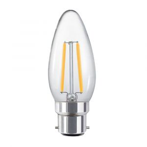 4w C35 Candle LED Filament Lamp - B22 Base