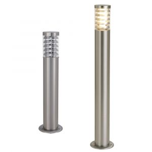 L2-7214 Stainless Steel Outdoor Bollard Light with Grill
