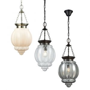 L2-11163	Glass Pendant Light Range from