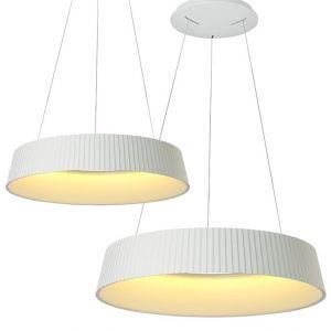 L2-11184 White Round LED Pendant Light Range from