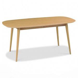 F2-106 Oak Veneer Dining Table