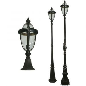 L2-7192 Traditional Exterior Pillar/Post Light Range from