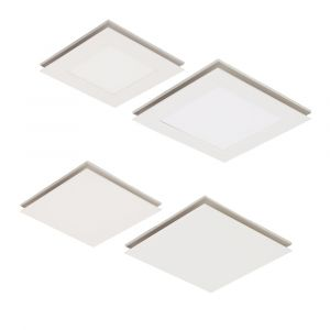 L2U-1141 Square Exhaust Fan Range with Optional LED Light from
