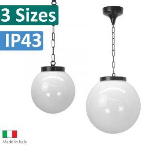 L2U-4379 Opal Sphere Pendant Light