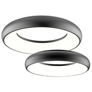 L2U-9204 Black Dimmable LED Ceiling Light Range