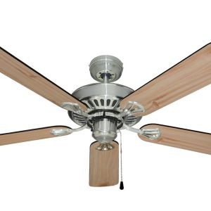 Hayman Ceiling Fan - Brushed Chrome