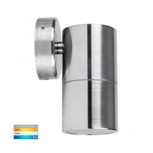 L2U-421 Marine Grade 316 Stainless Steel Fixed Single 12v/240v Wall Pillar Light