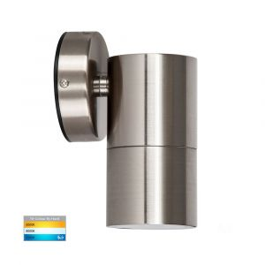 L2U-4626 Stainless Steel Fixed Single 240v Wall Pillar Light