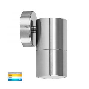 L2-776 Titanium Fixed Single 12v/240v Wall Pillar Light