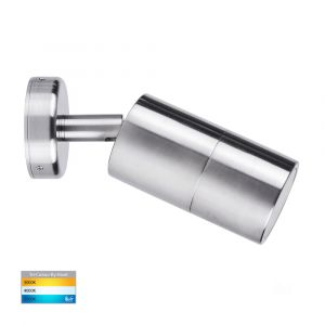 L2U-430 Marine Grade 316 Stainless Steel Single Adjustable 12v/240v Wall Pillar Light