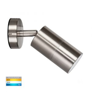 L2U-4627 Stainless Steel Single Adjustable 240v Wall Pillar Light