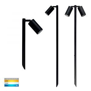 L2U-4709 Black Adjustable LED Garden Spike Light Range