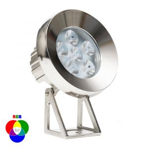 L2U-4701 316ss Submersible RGB 15w LED Garden Light