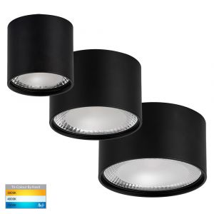 DL5802 Black Surface Mounted LED Downlight Range