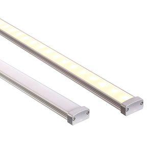 L2U-7223 Water Resistant (IP65) Shallow Square Aluminium Profile