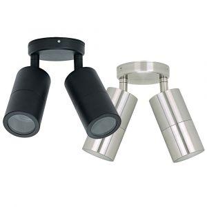 L2-7225 (240v) Double Adjustable Exterior Wall Light Range
