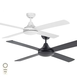 """Link 1220mm (48"""") DC 4 Blade Ceiling Fan with Remote"""