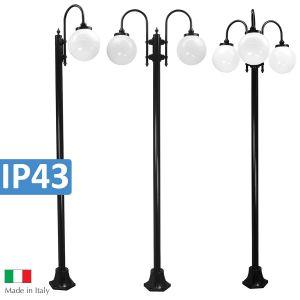 L2U-4312 Lisbon Large Plain Post Lights