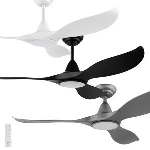 "Noosa 1520mm (60"") DC ABS Blades Ceiling Fan with LED Light & Remote"