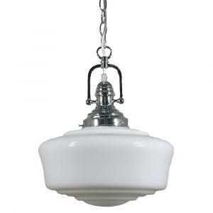 L2-11296 Chrome Classic Vintage Pendant Light