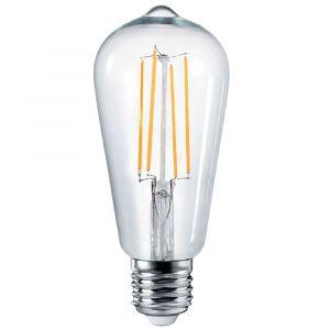 4w ST64 Pear LED Filament Lamp - E27 Base
