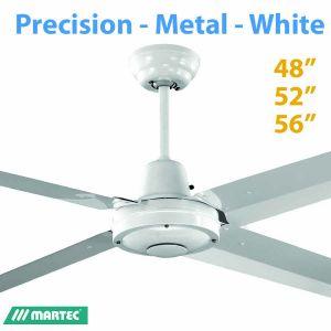 Precision White Silicon Steel Ceiling Fan