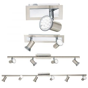 L2-315 Nickel Matt LED Spotlights from