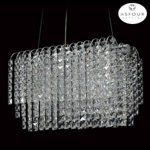 "S-8055-18.5""-Asfour Crystal Chandelier"
