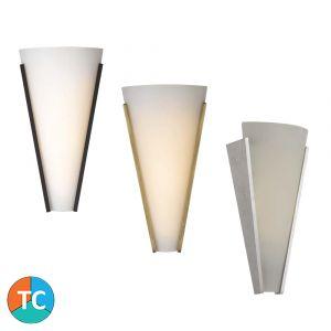 L2-6445 12w Tri-Colour LED Wall Light Range