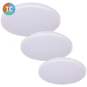 L2U-9183 Slim Design Tri-Colour LED Ceiling Light - White