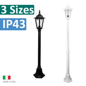 L2U-4332 Chester Traditional Single Head Post Light