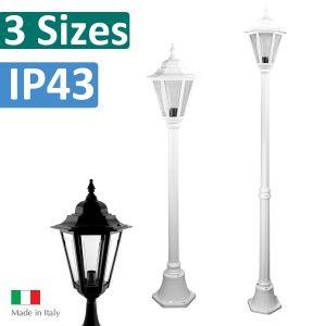 L2U-4372 Turin Single Head Post Light from