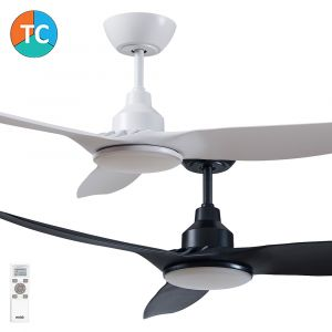 """Skyfan 1200mm (48"""") DC 3 Blade Ceiling Fan with LED Light & Remote"""