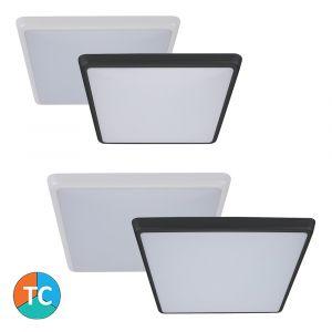 L2U-9129 Square Polycarbonate LED Oyster Light Range from