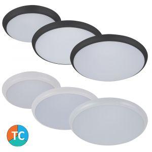 L2U-9128 Round Polycarbonate LED Oyster Light Range from